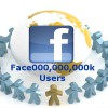 Facebook Achieved the Milestone of 1 Billion Users in a Month
